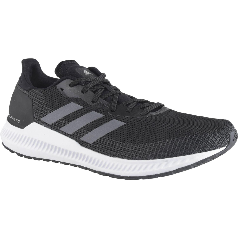 Adidas solar blaze m Negro / blanco Trail Running