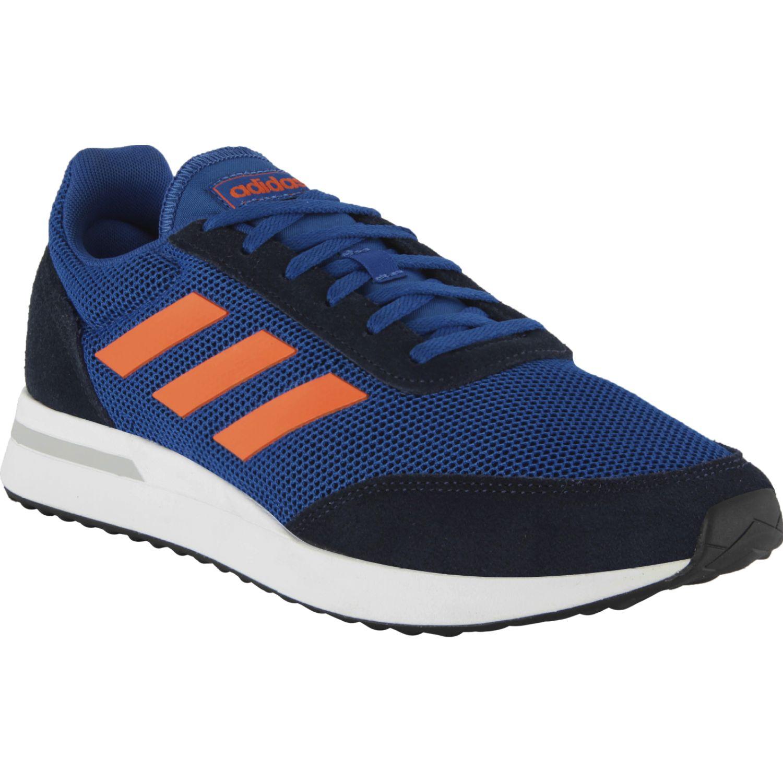 Adidas run70s Azul / naranja Running en pista
