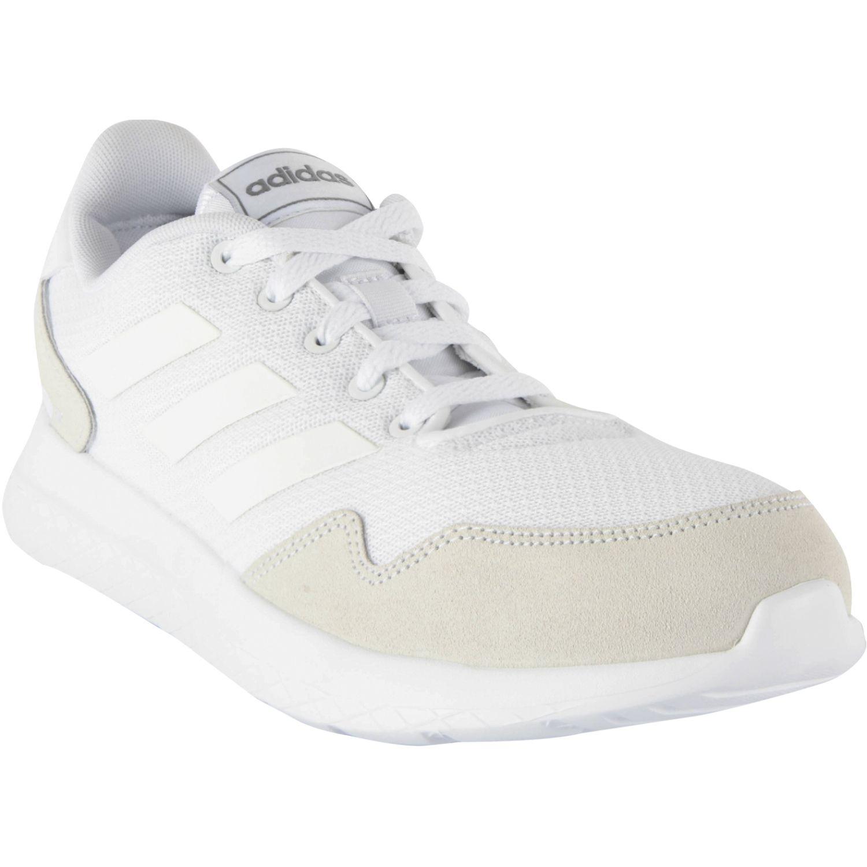 Adidas archivo BLANCO / HUESO Running en pista