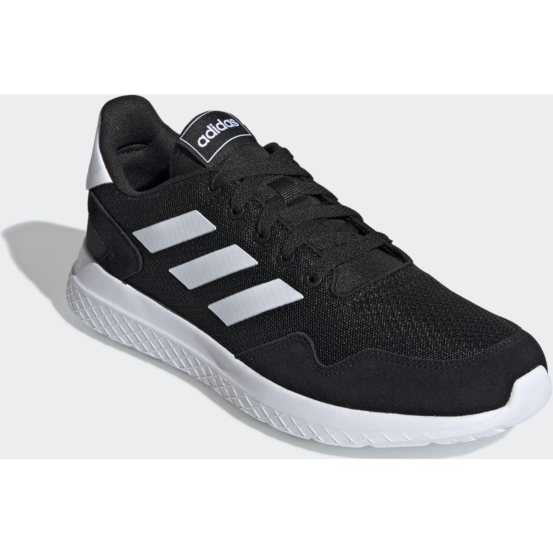 Adidas archivo Negro / blanco Running en pista