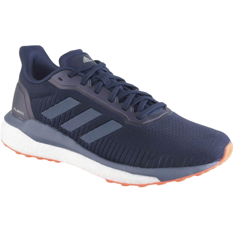 Adidas solar drive 19 m Navy / Naranja Running en pista