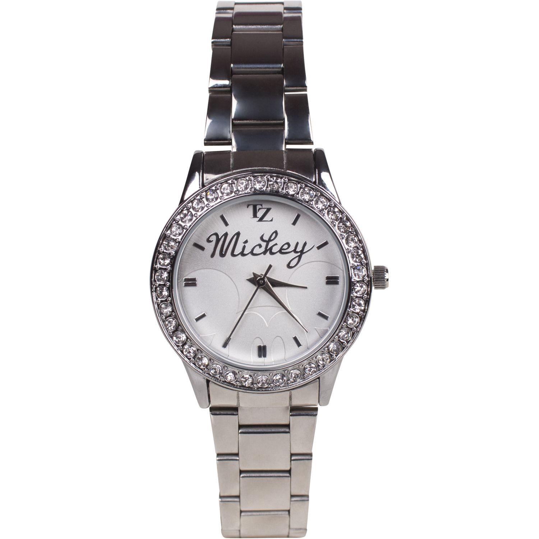 Mickey Mickey Hollow 20013 Plateado Relojes de pulsera