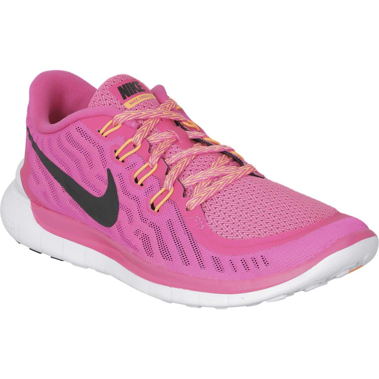 Nike FREE 5.0 W Rosado Trail Running | platanitos.com