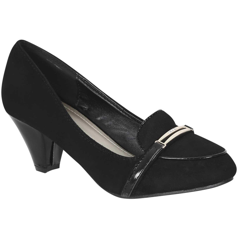 Calzado de Mujer Platanitos Negro c kennice