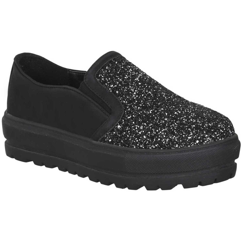 Platanitos ny-zc 61 Negro Zapatillas Fashion