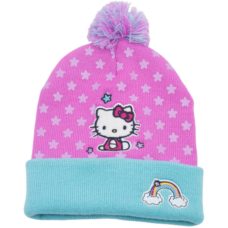 Hello Kitty gorro invierno hello kitty Rosado / celeste Sombreros y Gorros