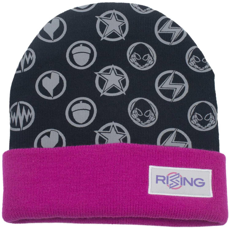 Marvel Rising gorro invierno marvel rising Negro / fucsia Sombreros y Gorros
