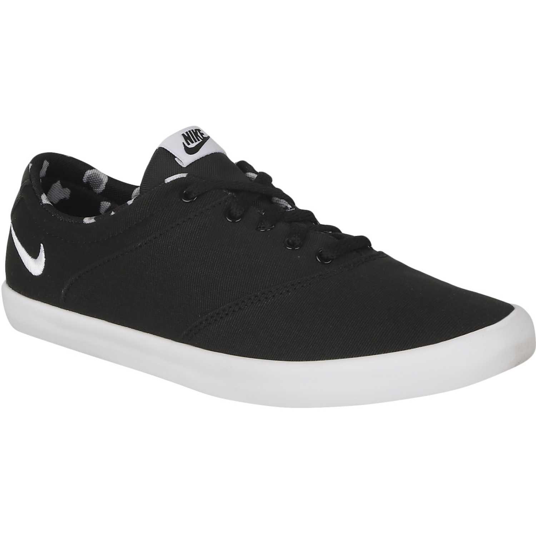 Cuña de Mujer Nike Negro / blanco wmns mini sneaker lace cnvs