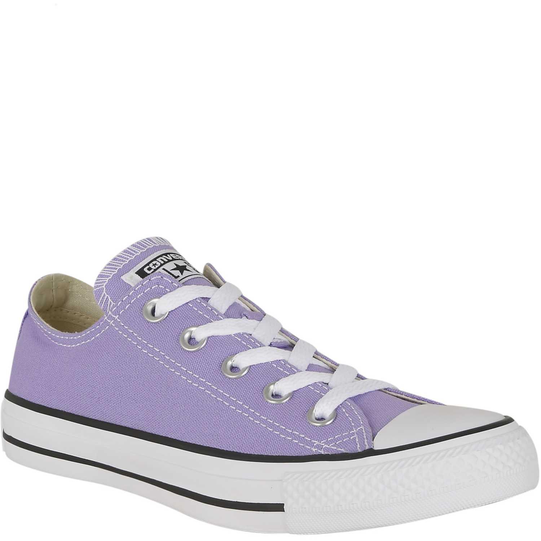 zapatillas converse lilas