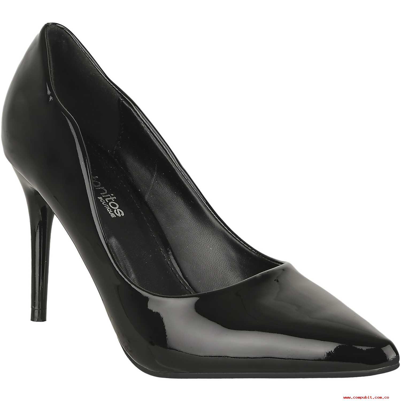 Calzado de Mujer Platanitos Negro c 331