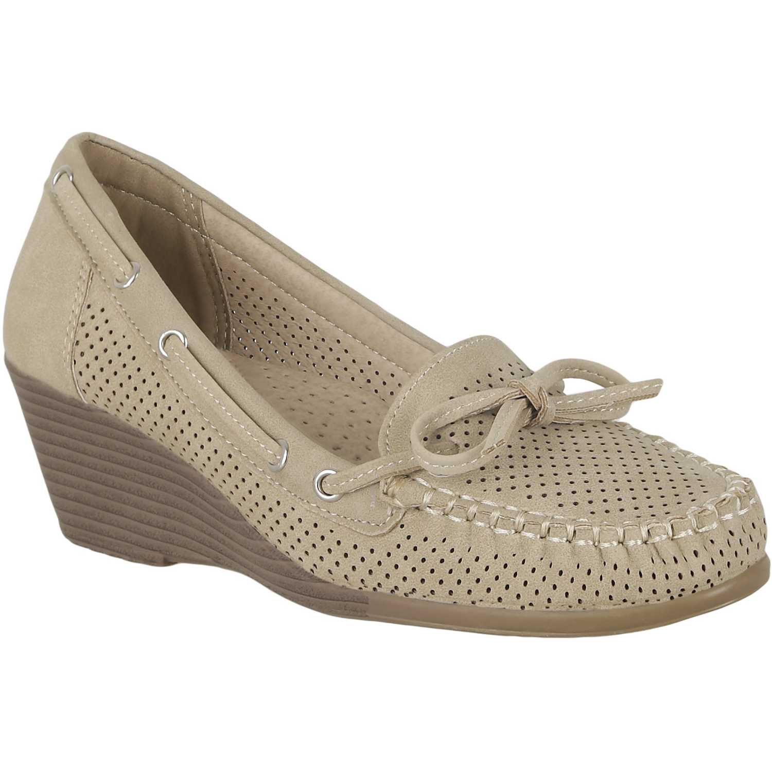 Casual de Mujer Platanitos Beige mw 37a2