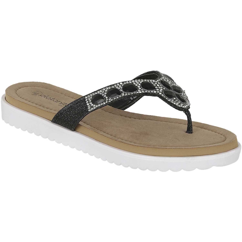 Comfort de Mujer Platanitos Negro sct perah03