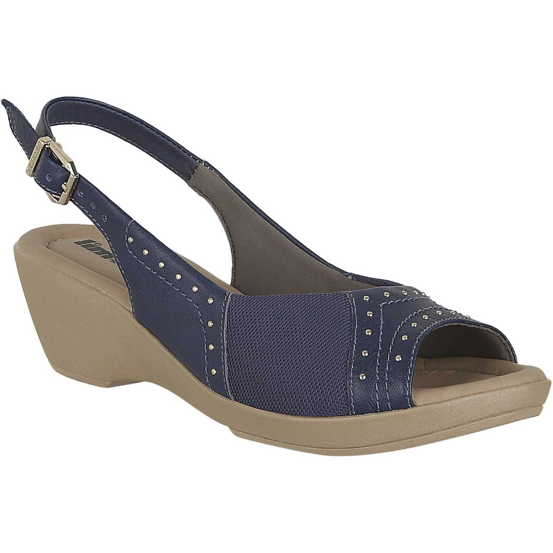 Limoni - Cuero sct 1464 Azul Flats