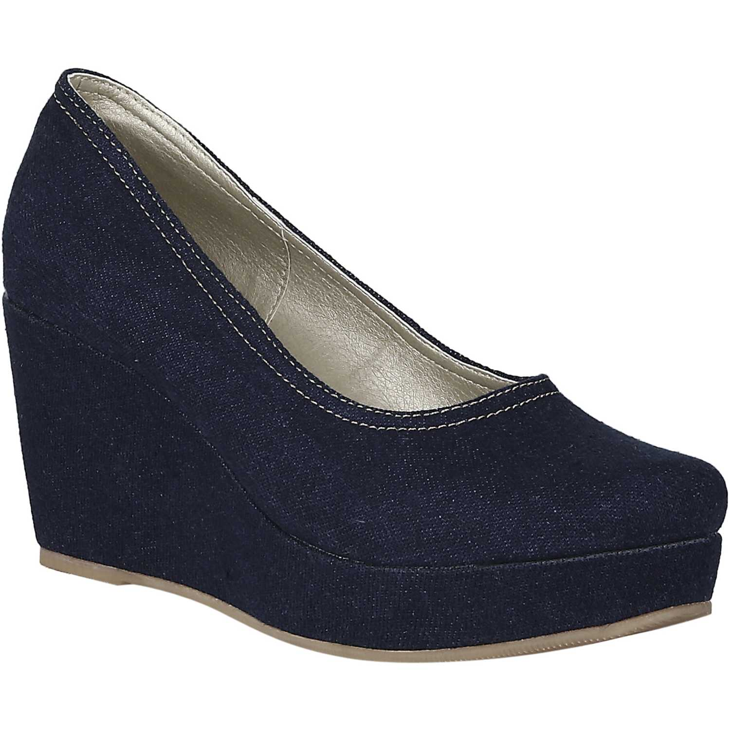 Platanitos CPW TINA5 Azul Estiletos y Pumps