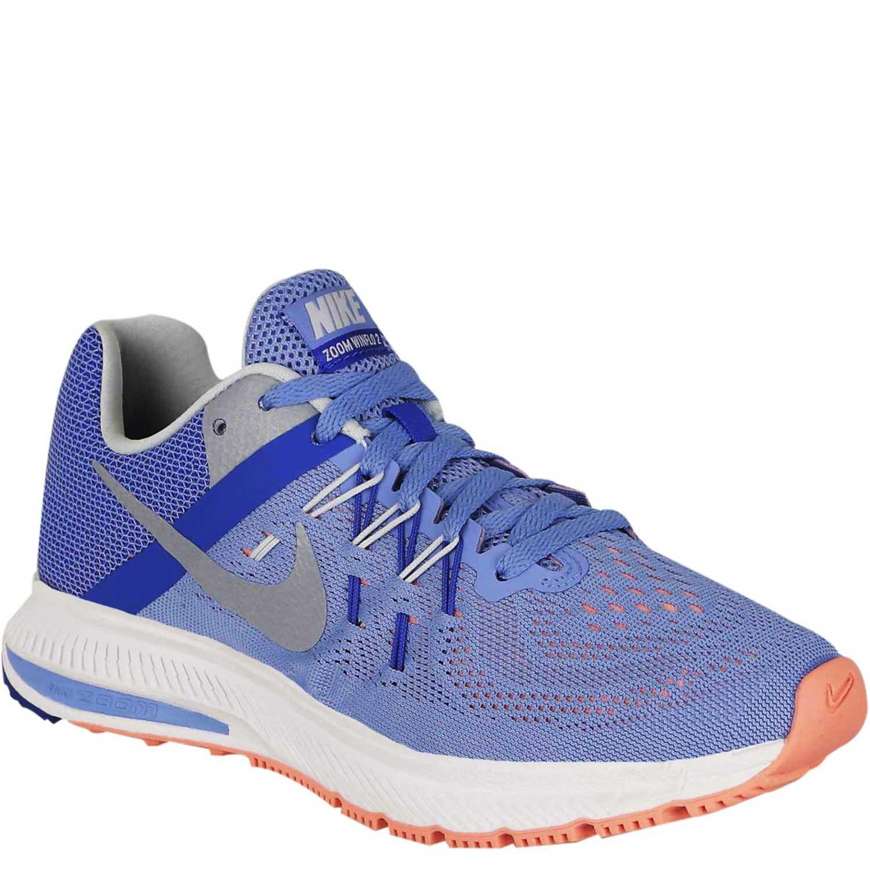 Nike wmns zoom winflo 2 Azulino / blanco Trail Running