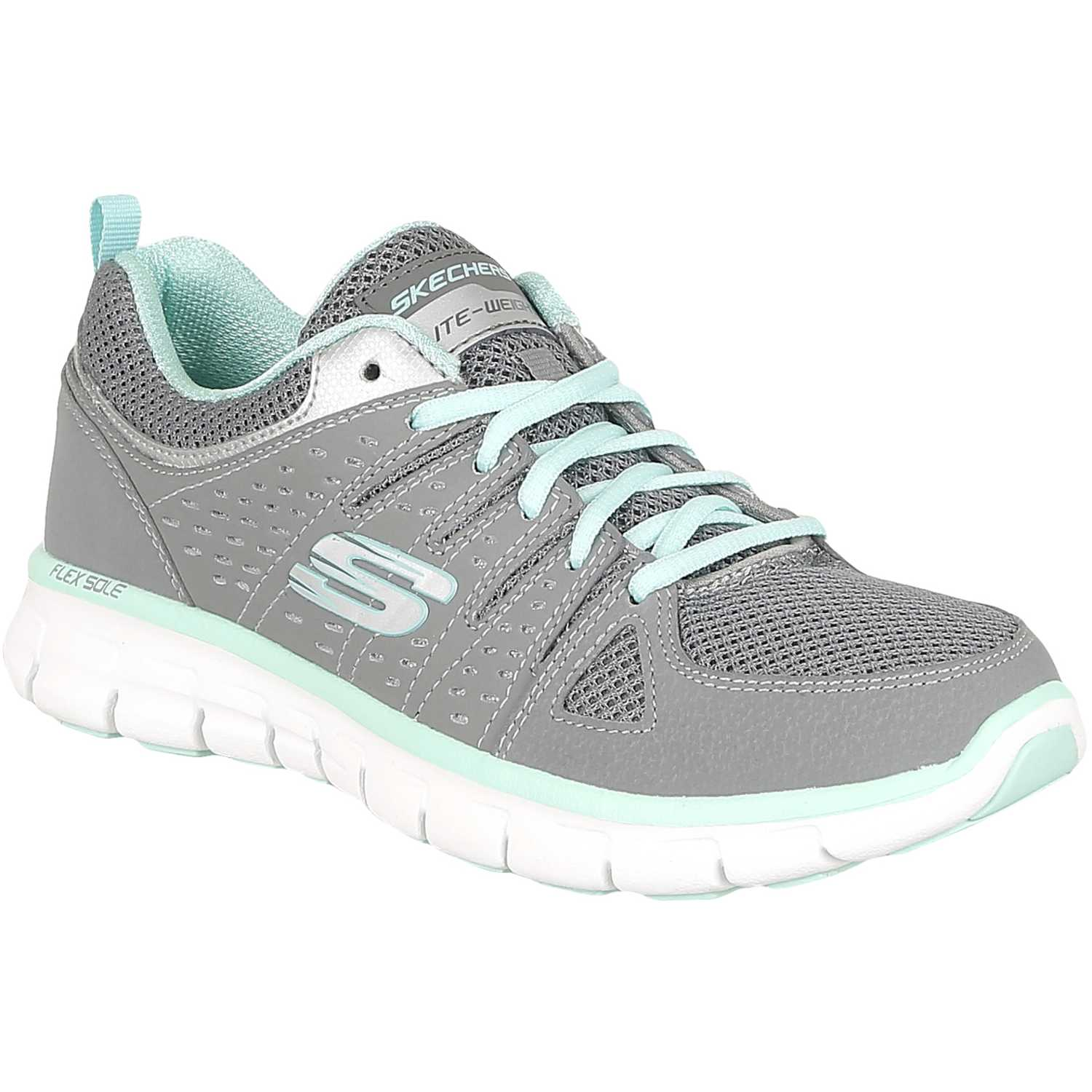 Synergy Casual De Mujer Skechers Gris 11963 tdCQrsh