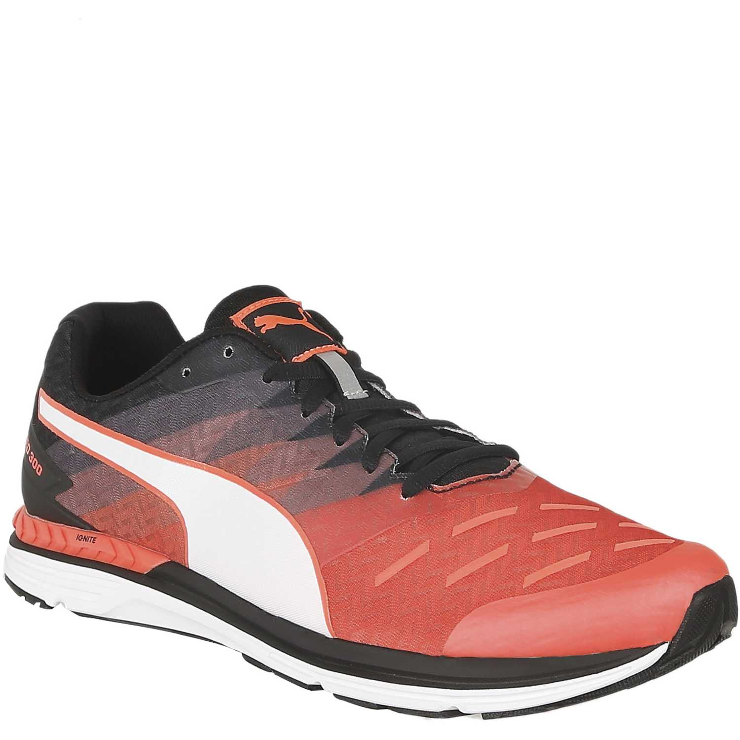 Puma speed 300 ignite Rojo / negro Trail Running