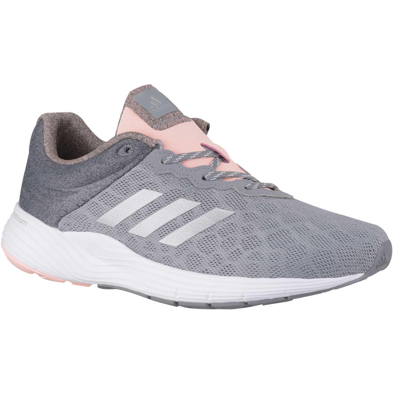 zapatillas grises mujer adidas
