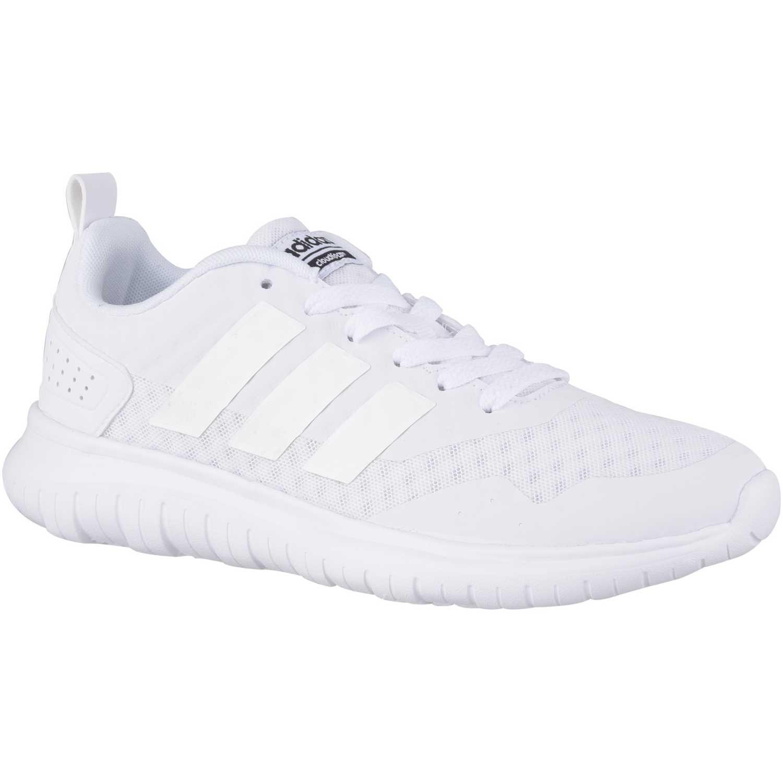 adidas NEO cloudfoam lite flex w Blanco Walking | platanitos.com