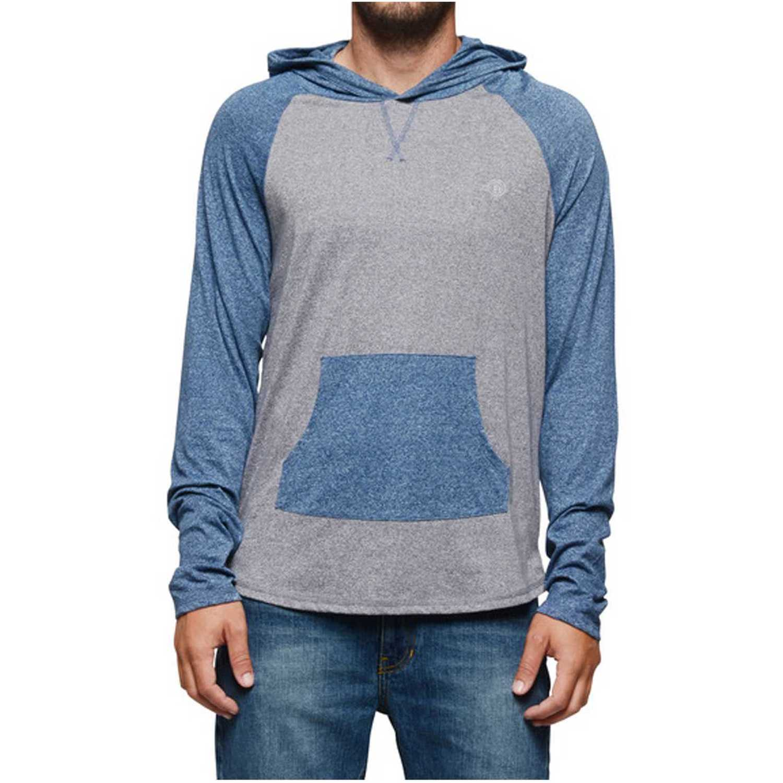 Element benton ho Gris / azul Hoodies y Sweaters Fashion