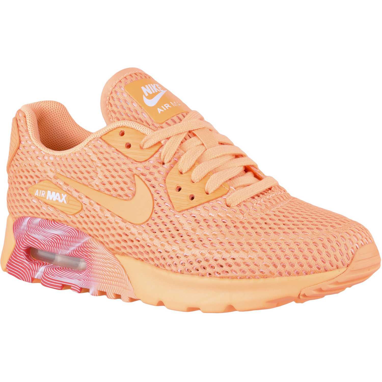 Casual de Mujer Nike Anaranjado wmns air max 90 ultra br