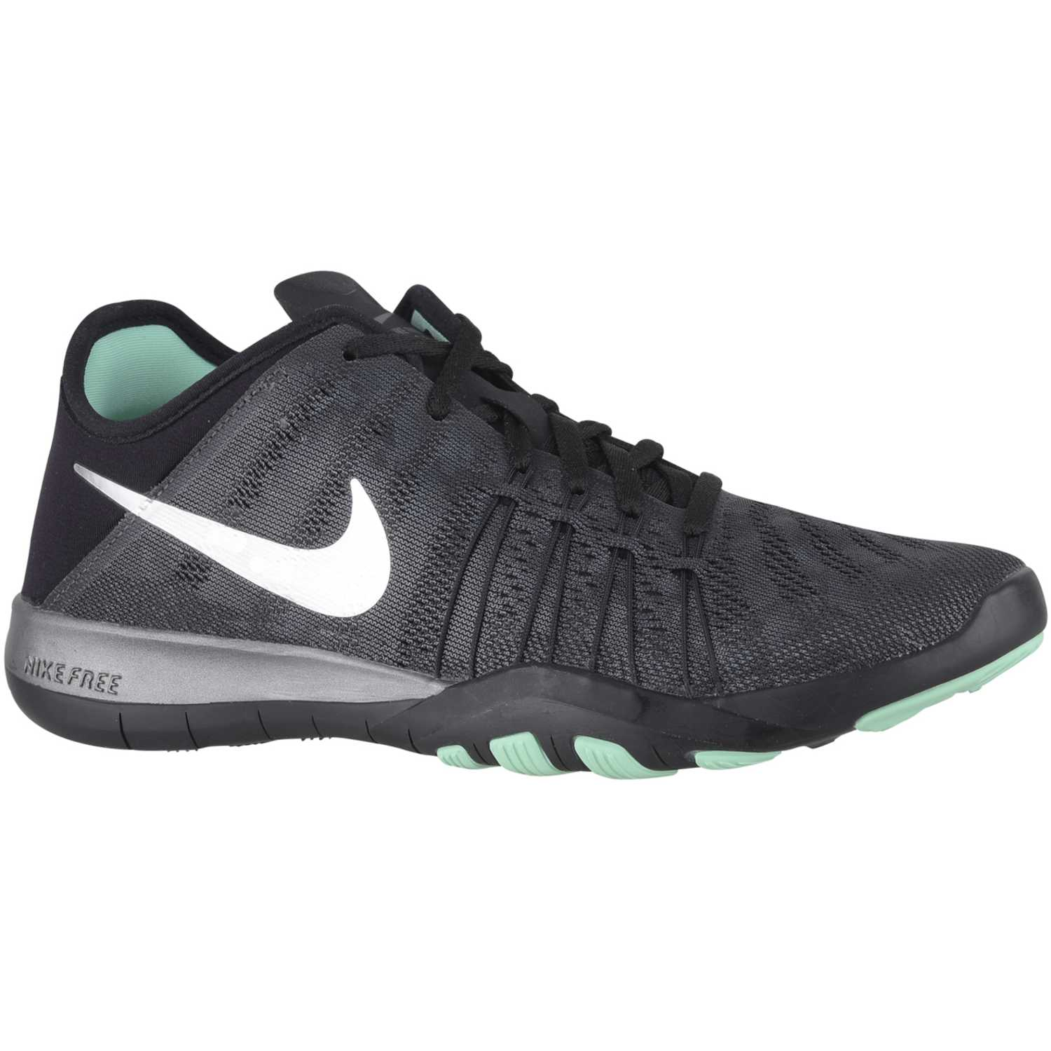 Nike wmns free tr 6 mtlc Gris oscuro Mujeres