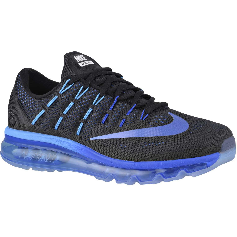 peligroso Ingenioso Archivo  Nike Air Max 2016 Negro / azul Calzado de correr | platanitos.com