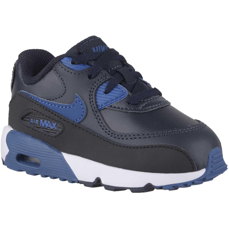 Cuña de Mujer Nike Negro Azul air max 90 ltr bt