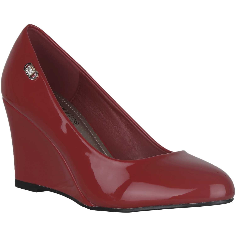 Cuña de Mujer Platanitos Rojo cw-v-11