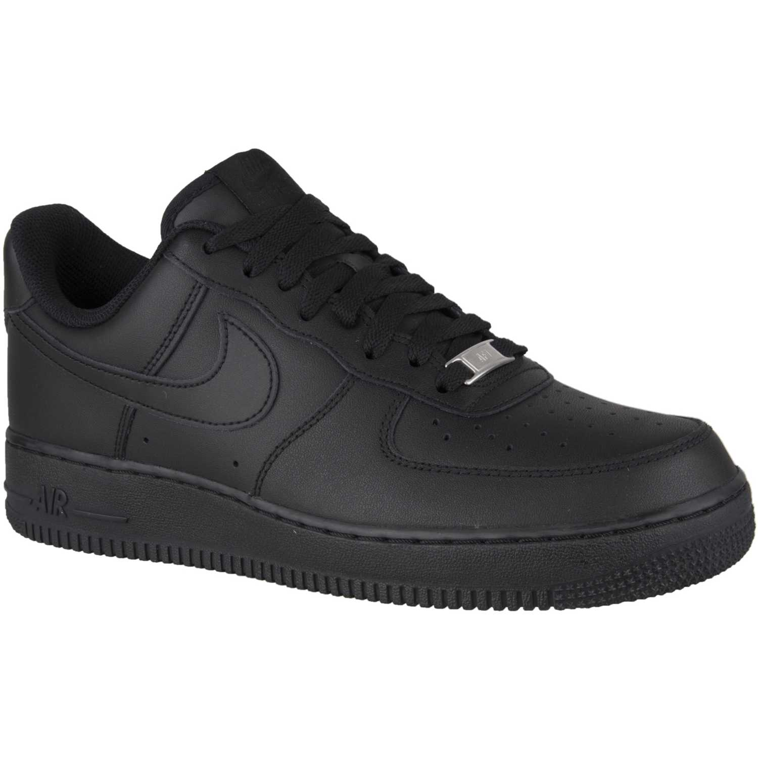 Nike air force 1 07 le Negro Walking