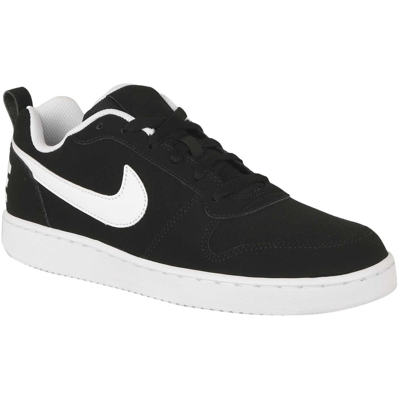 Casual de Hombre Nike Negro / blanco recreation low