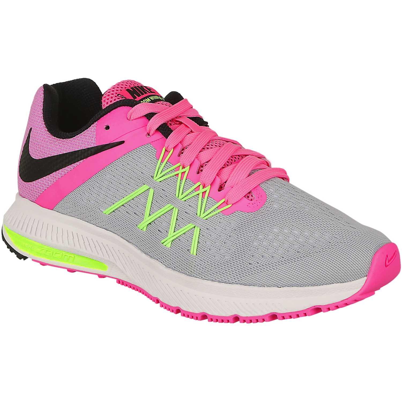 Nike wmns zoom winflo 3 Gris rosado |