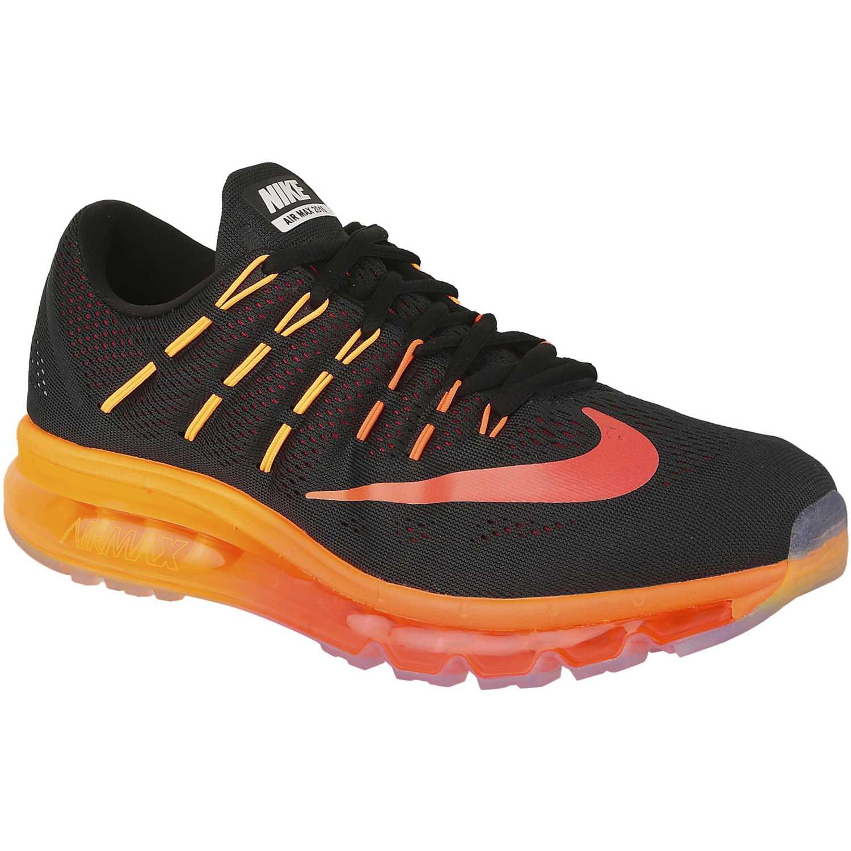 Fruta vegetales entusiasmo Instalaciones  Nike Air Max 2016 Negro / naranja Calzado de correr | platanitos.com