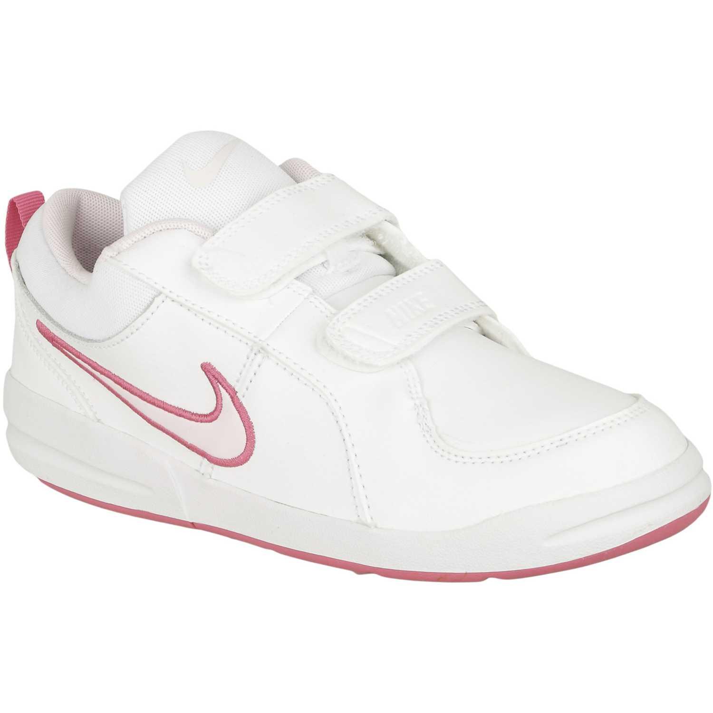 Deportivo de Niña Nike Blanco / rosado pico 4 gpv