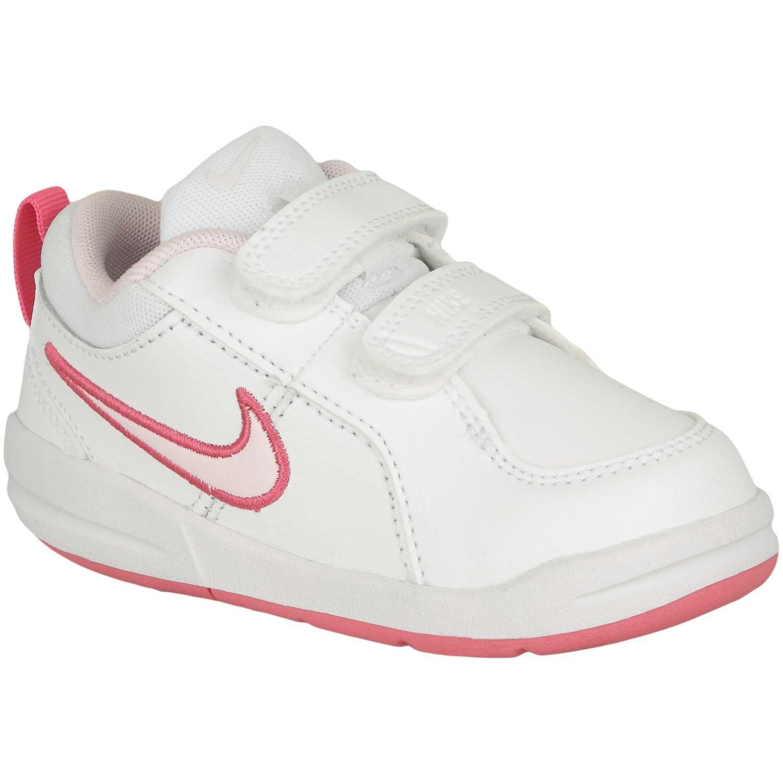 Nike pico 4 gtv Blanco / rosado Zapatillas