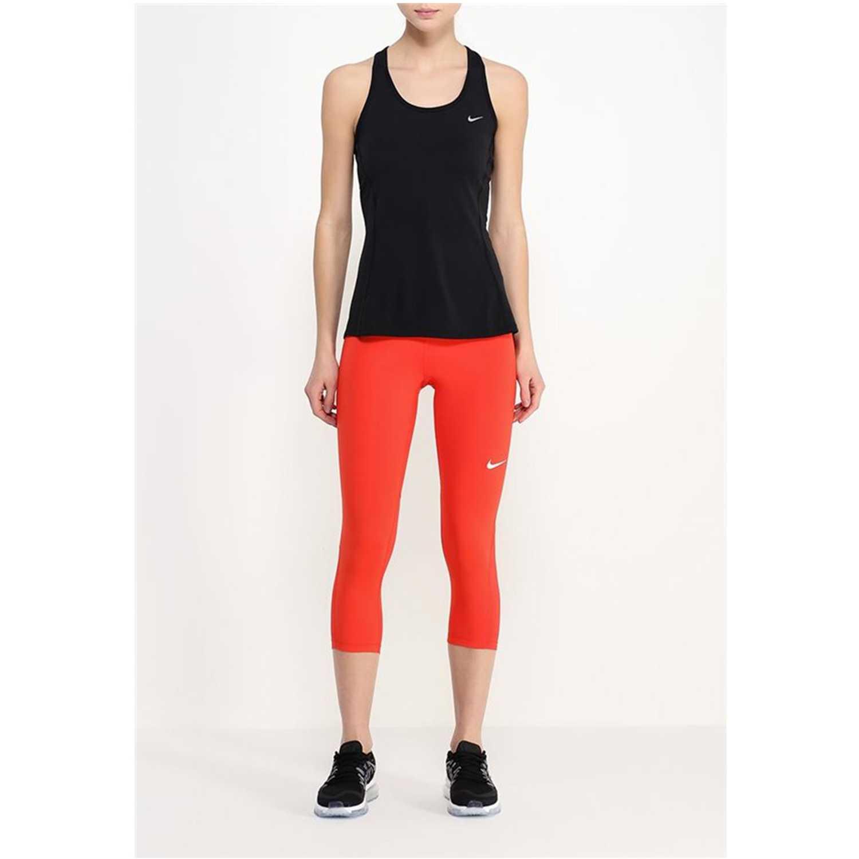 Nike pro cool capri Rojo