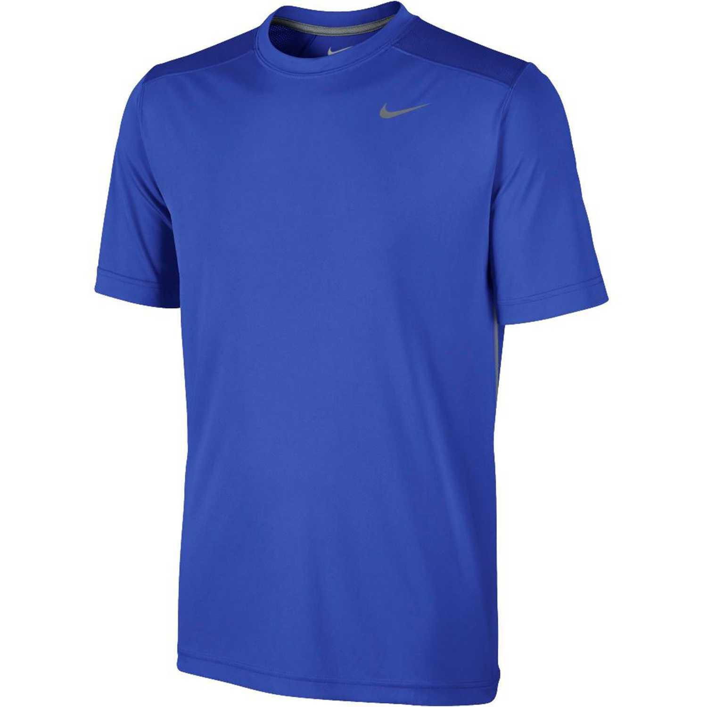 Nike legacy ss top Azul