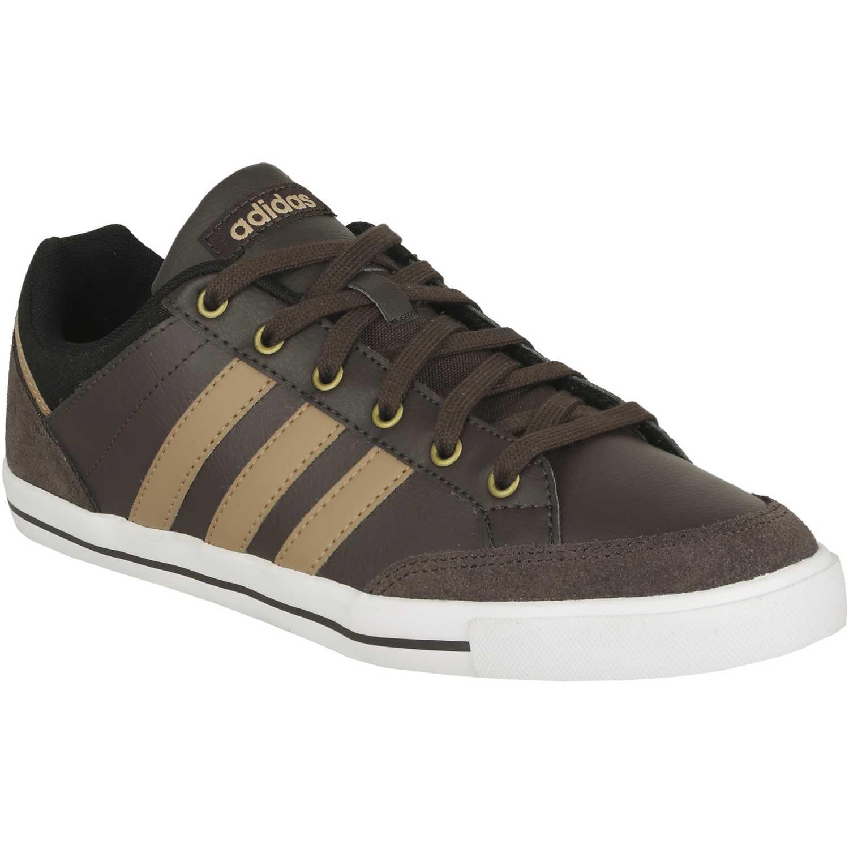 zapatillas adidas hombre marrones