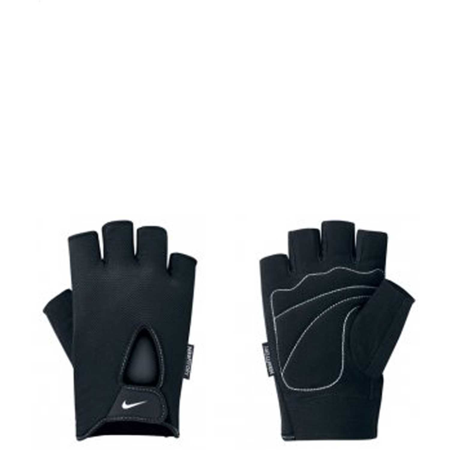 Deportivo de Hombre Nike Negro / blanco mens fundamental training gloves l