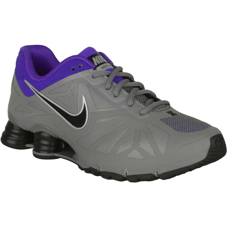 Nike shox turbo 14 Gris negro |