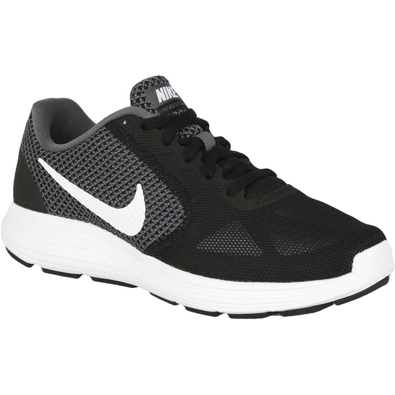 Nike wmns revolution 3 Negro / blanco