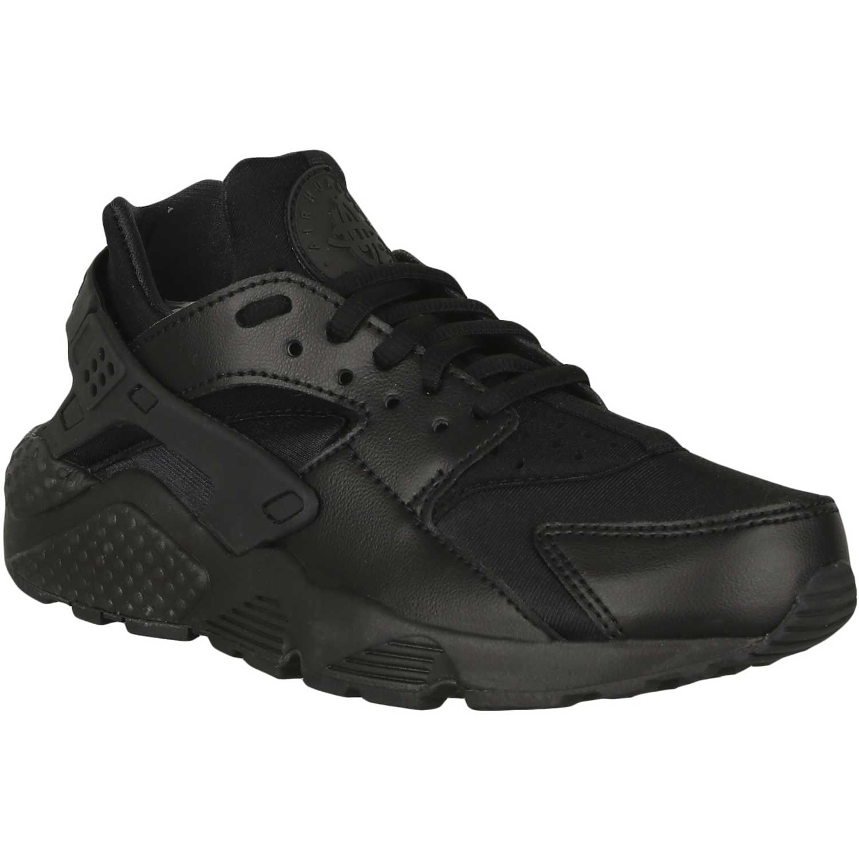 zapatillas nike huarache mujer negras
