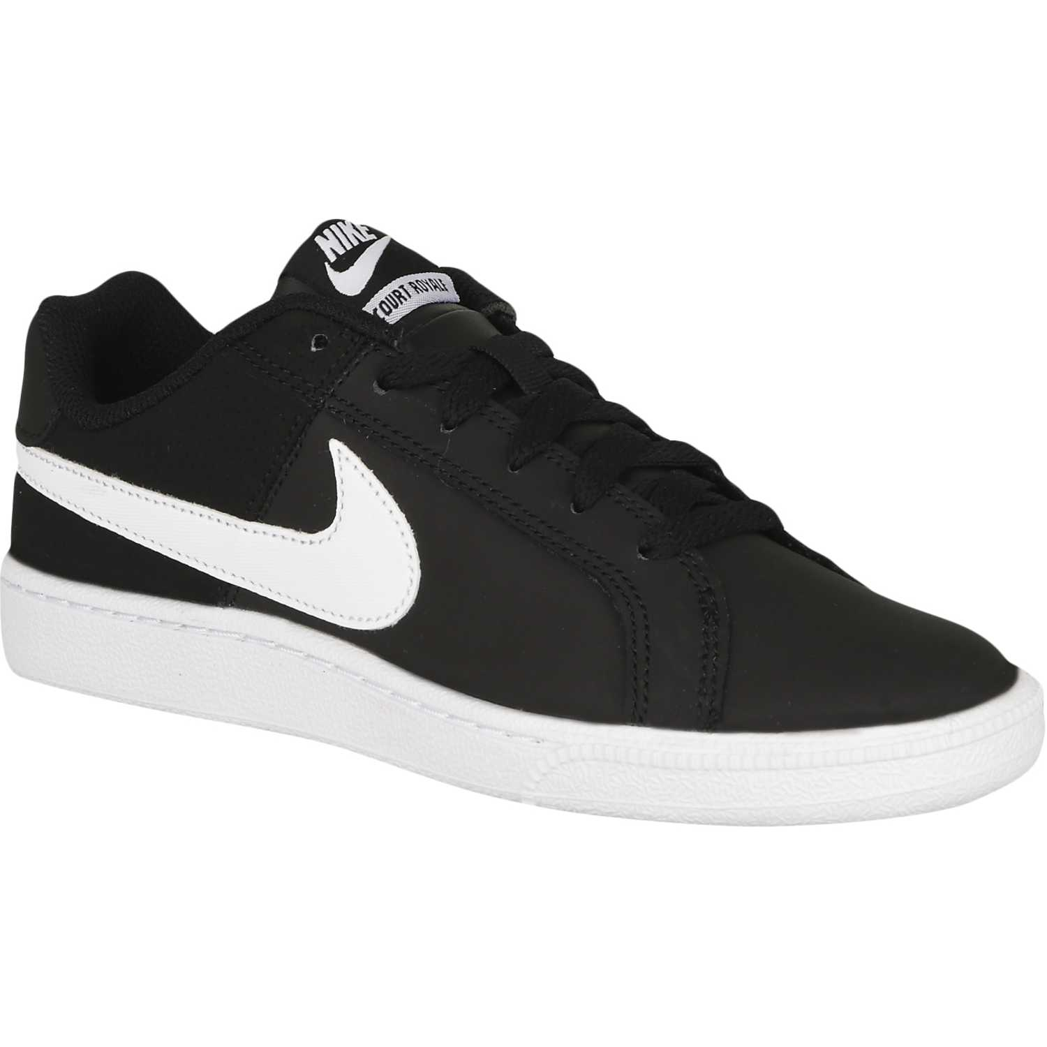 Nike wmns court royale Negro / blanco Walking | platanitos.com