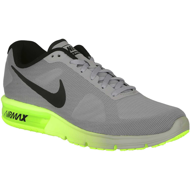 Fiesta de Mujer Nike Gris Verde air max sequent