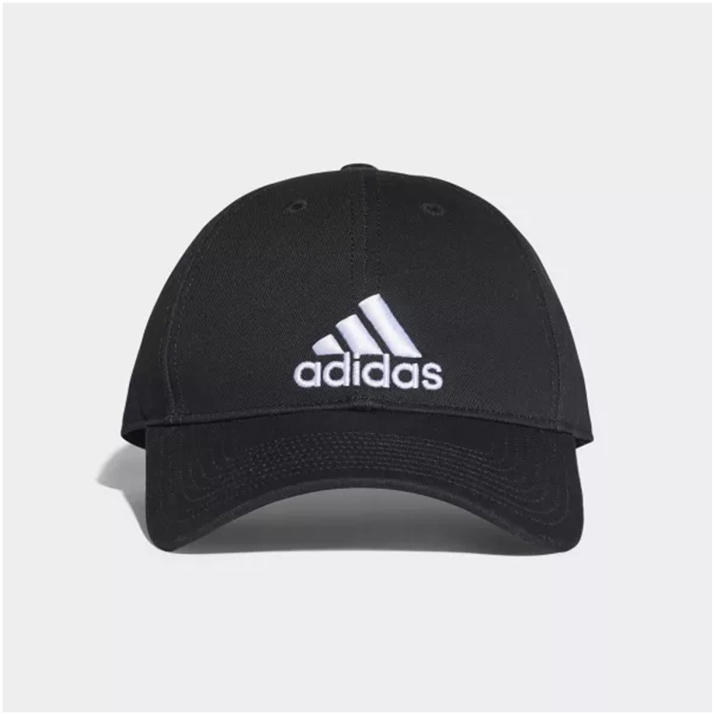 Adidas 6p cap cotton Negro Gorros de Baseball