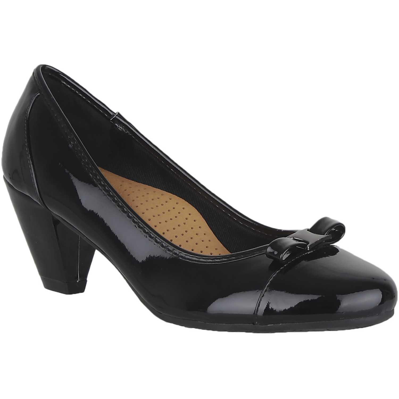 Calzado de Mujer Platanitos Negro c-11