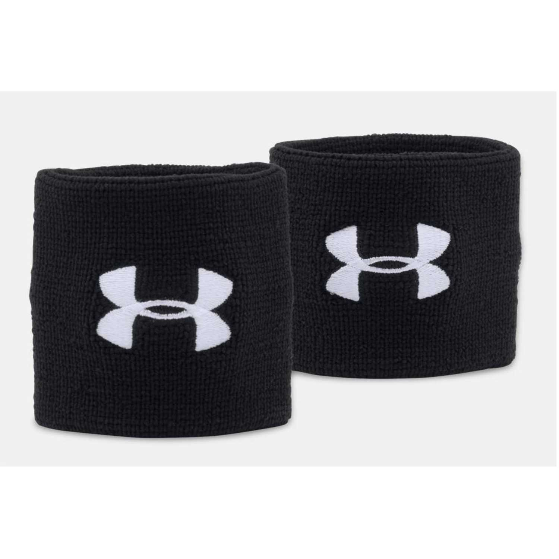 Under Armour ua performance wristbands Negro / blanco pulseras