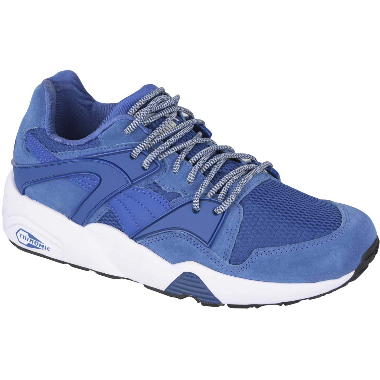 Puma blaze Azul / blanco Walking