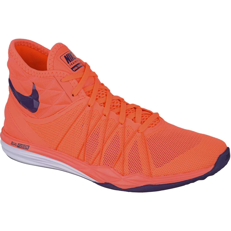 82868e112210 Casual de Mujer Nike Anaranjado wmns dual fusion tr hit mid ...