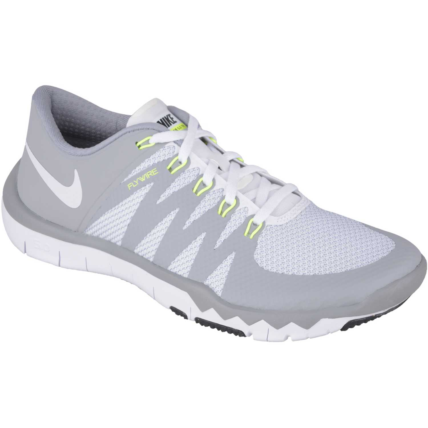 check out 337a0 2ee6b Fiesta de Mujer Nike gris / blanco free trainer 5.0 v6 ...